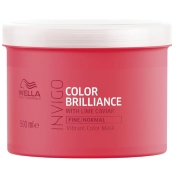 Masque Color Brilliance Invigo Cheveux Fins Wella 500 ML