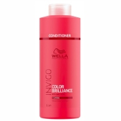 Conditioner Color Brilliance Invigo Cheveux Épais Wella 1L