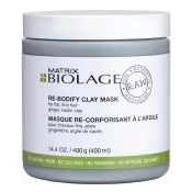 Masque Re-Corporisant à l'Argile R.A.W Biolage 400 ML