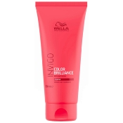 Conditioner Color Brilliance Invigo Cheveux Épais Wella 200 ML