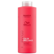 Shampoing Color Brilliance Invigo Cheveux Fins à normaux Wella 1L